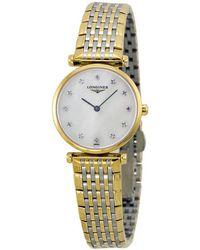 Longines La Grande Classique Diamond Ladies Watch L42092877 - Metallic