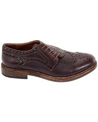 Burberry Mens Rayford Brogue Detail Lace-up Derby, Brand - Brown