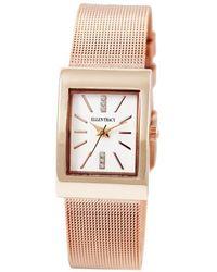 Ellen Tracy Quartz Ladies Watch - Pink