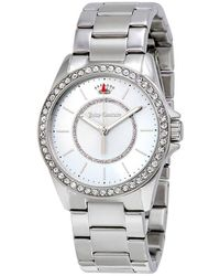 Juicy Couture Open Box - Laguna Light Blue Sunray Dial Ladies Watch - Metallic