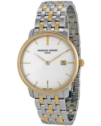 Frederique Constant Women's Slim Line Watch - Metallic