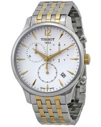 Tissot - T-classic Tradition Chronograph Mens Watch T0636172203700 - Lyst