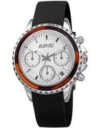 August Steiner - Chronograph Quartz White Dial Watch - Lyst