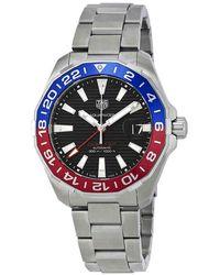 Tag Heuer Aquaracer Automatic Pepsi Bezel Mens Watch - Metallic