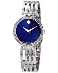 Movado Esperanza Quartz Diamond Ladies Watch - Multicolour