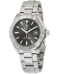 Tag Heuer Aquaracer Automatic Mens Watch - Metallic