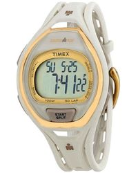 Timex Ironman Sleek 50 Lap Unisex Watch - Metallic