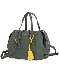 Tory Burch Perry Small Satchel - Green