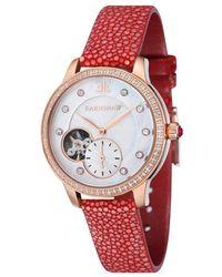 Thomas Earnshaw Lady Australis Automatic Ladi Watch -8029-08 - Multicolor