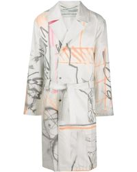 Off-White c/o Virgil Abloh White / Multi Futura Trench Coat