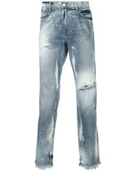 424 Mens Blue Marshall Jeans Washed-out, Brand