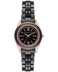 Anne Klein - Black Dial Ladies Watch - Lyst