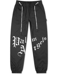 Palm Angels New Gothic Sweat Pant - Black