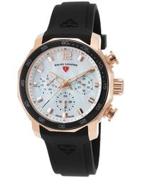 Swiss Legend Blue Geneve Ladies Watch 16192sm-rg-02-blkb - Metallic