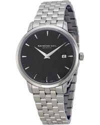 Raymond Weil Toccata Black Dial Mens Watch Rw--st-20001 - Metallic