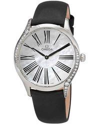 Omega De Ville Mother Of Pearl Ladies Watch - Metallic