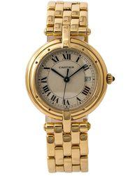 Cartier Pre-owned Panthere Vendome Quartz Ladies Watch - Metallic