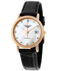 Longines La Grande Classique Automatic Ladies Watch L43788870 - Black
