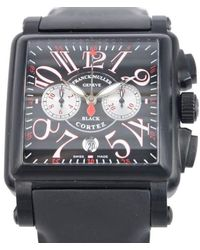 Franck Muller Conquistador Automatic Black Dial Unisex Watch