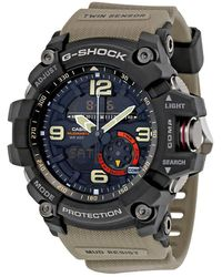G-Shock G-shock Black Dial Tan Resin Strap Mens Watch -1A5