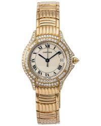 Cartier Pre-owned Panthere Quartz Diamond Ladies Watch  1 - Metallic