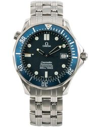 Omega Pre-owned Seamaster Blue Dial Mens Watch