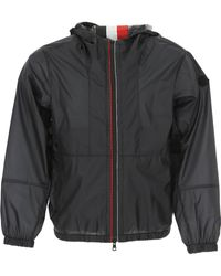 Moncler - Black Lightweight Hooded Waterproof Windbreaker Jacket - Lyst