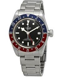 Tudor Pre-owned Black Bay Automatic Black Dial Mens Watch -0001 - Metallic