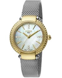 Ferrè Milano - Quartz White Dial Ladies Watch - Lyst