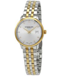 Raymond Weil Toccata Quartz Diamond Silver Dial Ladies Watch -stp-65081 - Metallic