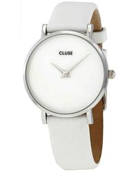 Cluse Minuit La Perle White Mother Of Pearl Dial Ladies Watch - Metallic
