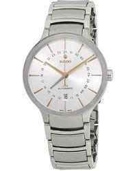 Rado - Centrix Xl Automatic Silver Dial Mens Watch - Lyst