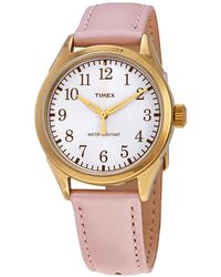 Timex Briarwood Silver Dial Ladies Watch - Metallic