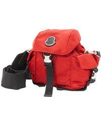 Moncler Red Dauphine Mini Crossbody Bag