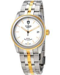 Tudor - Glamour Date Automatic Unisex Watch -0082 - Lyst