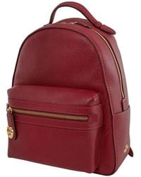 COACH Deep Campus Backpack - Red