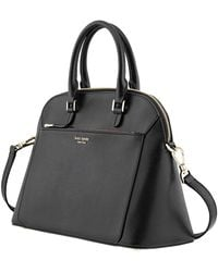Kate Spade Black Louise Medium Dome Satchel