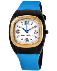 Marc Jacobs Unibody Quartz White Dial Ladies Watch - Pink