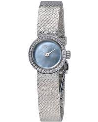 Dior La Mini D De Satine Ladies Watch - Metallic