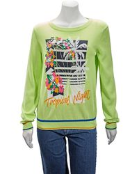 J.won Tropical Pullover In Green, Brand