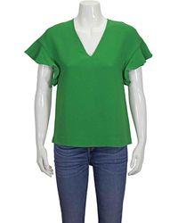 Essentiel Antwerp Ladies  Wimbledon Green Short Sleeve Shirt