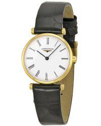 Longines La Grande Classique White Dial Ladies Watch - Multicolour
