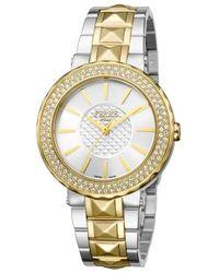 Ferrè Milano Silver Dial Ladies Watch - Metallic