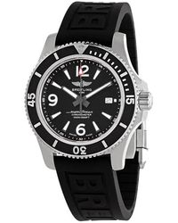 Breitling Superocean 42 Automatic Black Dial Mens Watch