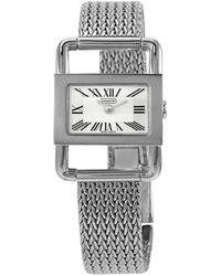 COACH Bridle Silver Dial Stainless Steel Ladies Watch - Metallic