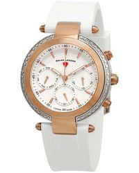 Swiss Legend Madison White Dial Ladies Watch 16175sm-sr-02-wht - Multicolour