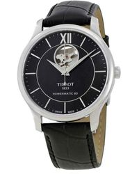 Tissot - Tradition Automatic Black Dial Mens Watch T0639071605800 - Lyst