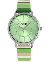 Crayo Swing Quartz Unisex Watch - Green
