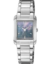 Citizen Mother Of Pearl Blue Dial Ladies Eco-drive Watch -81n
