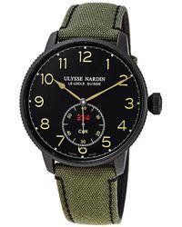 Ulysse Nardin Marine Torpilleur Limited Edition Automatic Chronometer Black Dial Mens Watch -320le/black